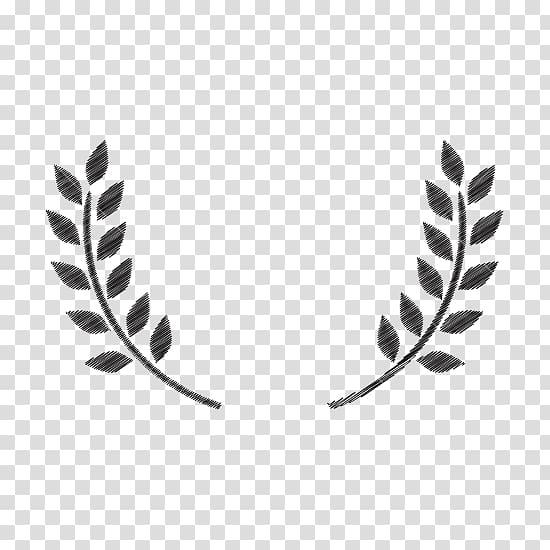 Olive leaf clipart black and white download Two black leaves illustration, Olive branch , olive leaf ... black and white download