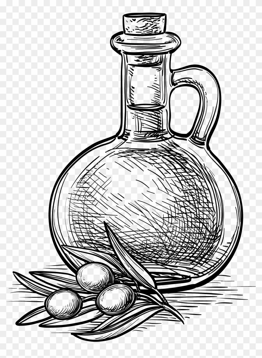 Olive oil clipart black and white free image library stock Nuts Drawing Oil Seed - Olive Oil Clipart Black And White ... image library stock
