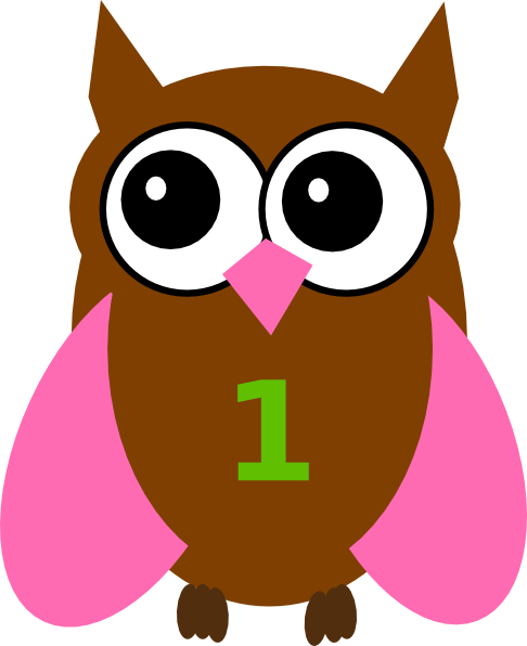 Olivia clipart image freeuse download Pink Owl Olivia Birthday 4 Clip Art at Clker.com - vector ... image freeuse download