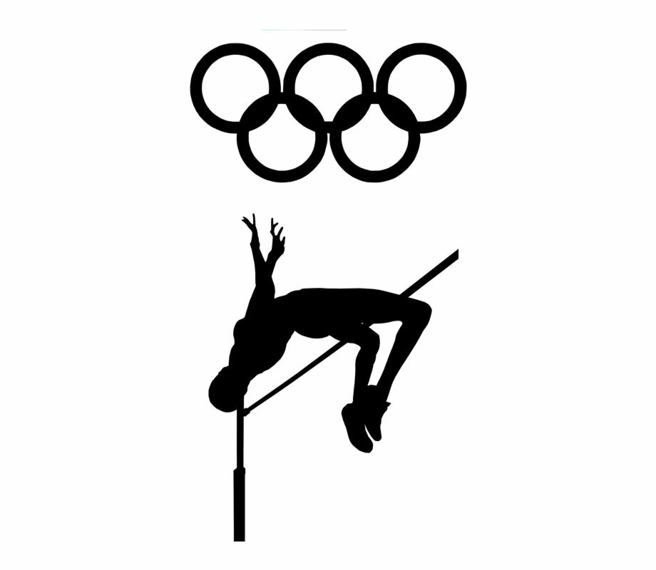 Track & field clipart olympic png transparent library High Jump Track And Field Olympics Jump Field - Tokyo 1964 ... png transparent library