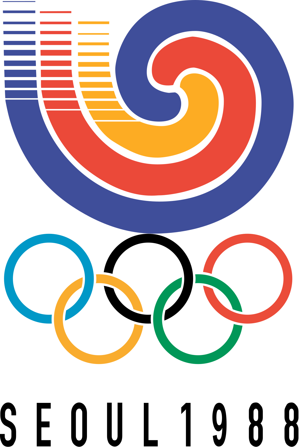 Olympics basketball clipart clip art black and white 1988 Summer Olympics - Wikipedia clip art black and white