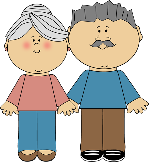 Oma und opa clipart image freeuse download Great Grandma Clipart - Clipart Kid image freeuse download