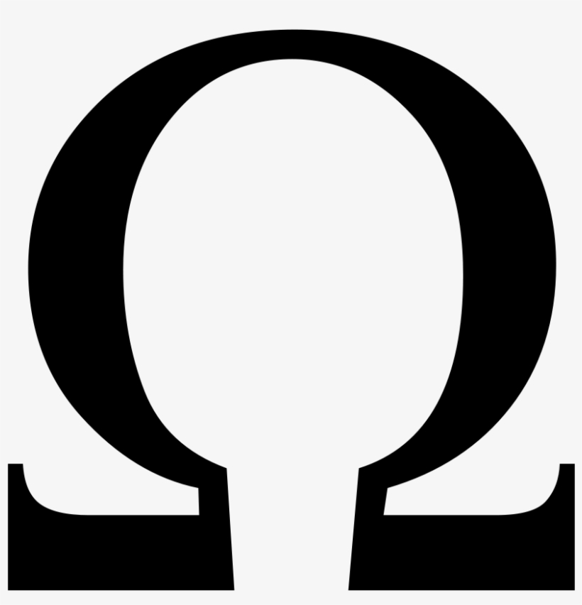 Omega logo clipart clip art royalty free library God Of War Omega Symbol Png Clipart Black And White - Greek ... clip art royalty free library