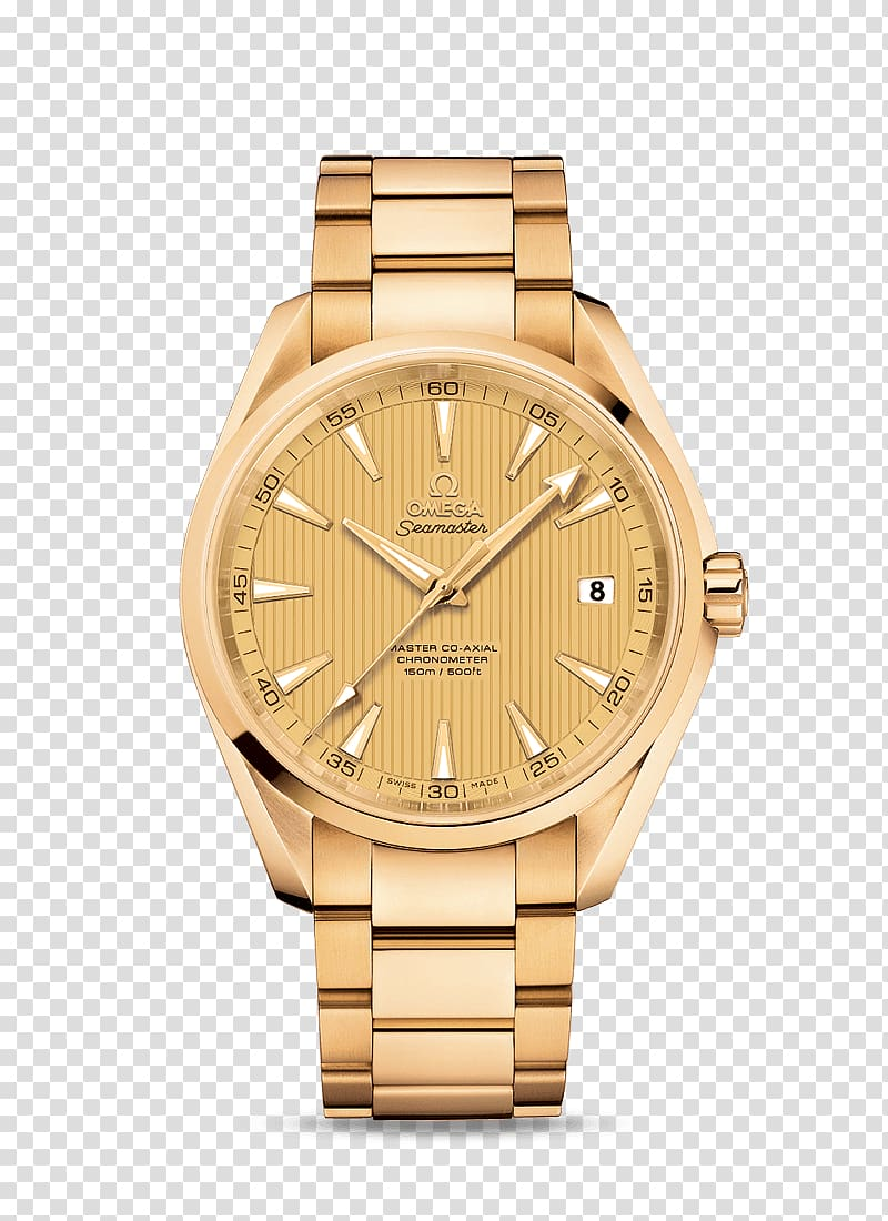 Omega watch logo clipart clipart free library Round analog watch with gold-colored bracelet, Omega ... clipart free library