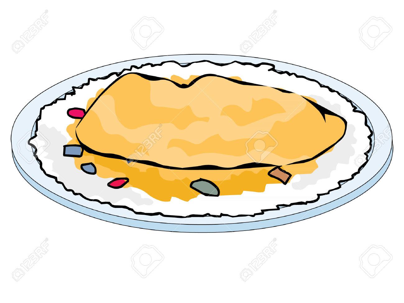 Omelette vector clipart svg Omelet Clipart | Free download best Omelet Clipart on ... svg