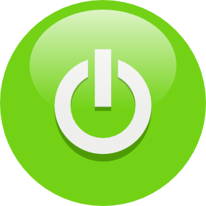 On button clipart jpg transparent library Green Power Button Clip Art at Clker.com - vector clip art ... jpg transparent library