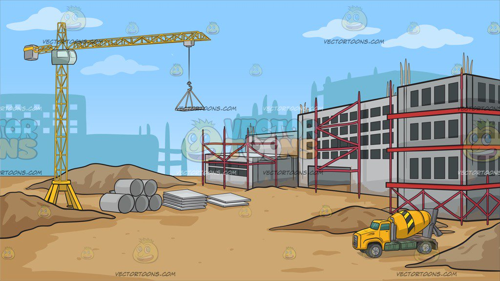 On site clipart graphic freeuse download Construction site clipart » Clipart Station graphic freeuse download