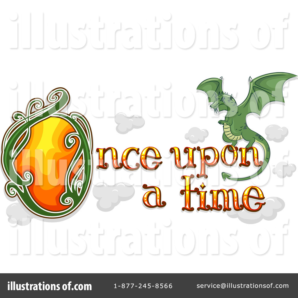 Once clipart black and white download Once Upon A Time Clipart #1129290 - Illustration by BNP ... black and white download