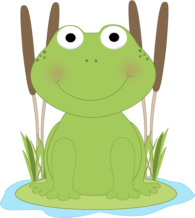 Once upon a lily pad clipart black & white banner royalty free stock frog clip art | Frog in a Pond Clip Art Image - cute frog ... banner royalty free stock
