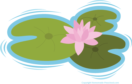 Once upon a lily pad clipart black & white clip art free download Lily free flower clipart image #26853 | FROG CLIPART ... clip art free download