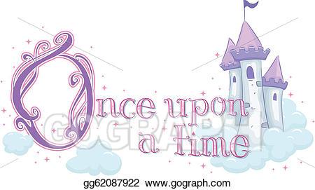 Once upon a time clipart svg royalty free library Vector Stock - Once upon a time. Clipart Illustration ... svg royalty free library