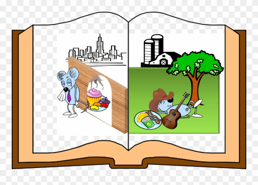 Once upon a time clipart svg transparent download A Town Mouse Once Upon A Time Went On A Visit To His ... svg transparent download