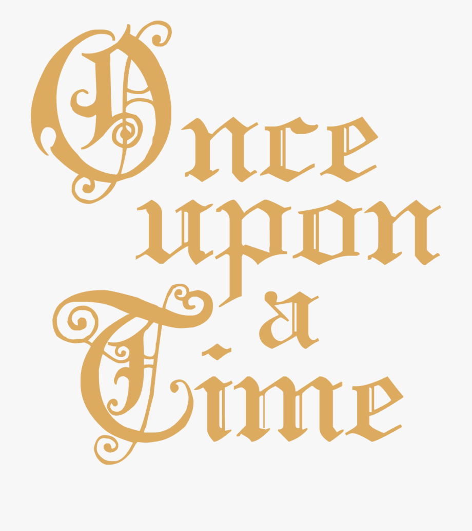 Once clipart image royalty free library Calligraphy Once Upon A Time Clipart , Png Download - Once ... image royalty free library
