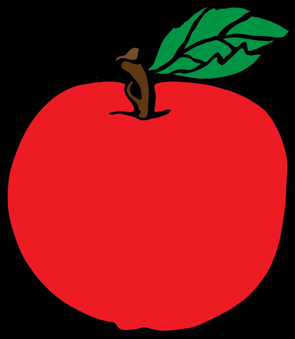 One apple clipart clip library stock Cartoon Apple - Shop of Clipart Library clip library stock