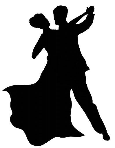 """One dance clipart picture black and white To start the day …. """"Paddy and Nico: Electric Ballroom ... picture black and white"""