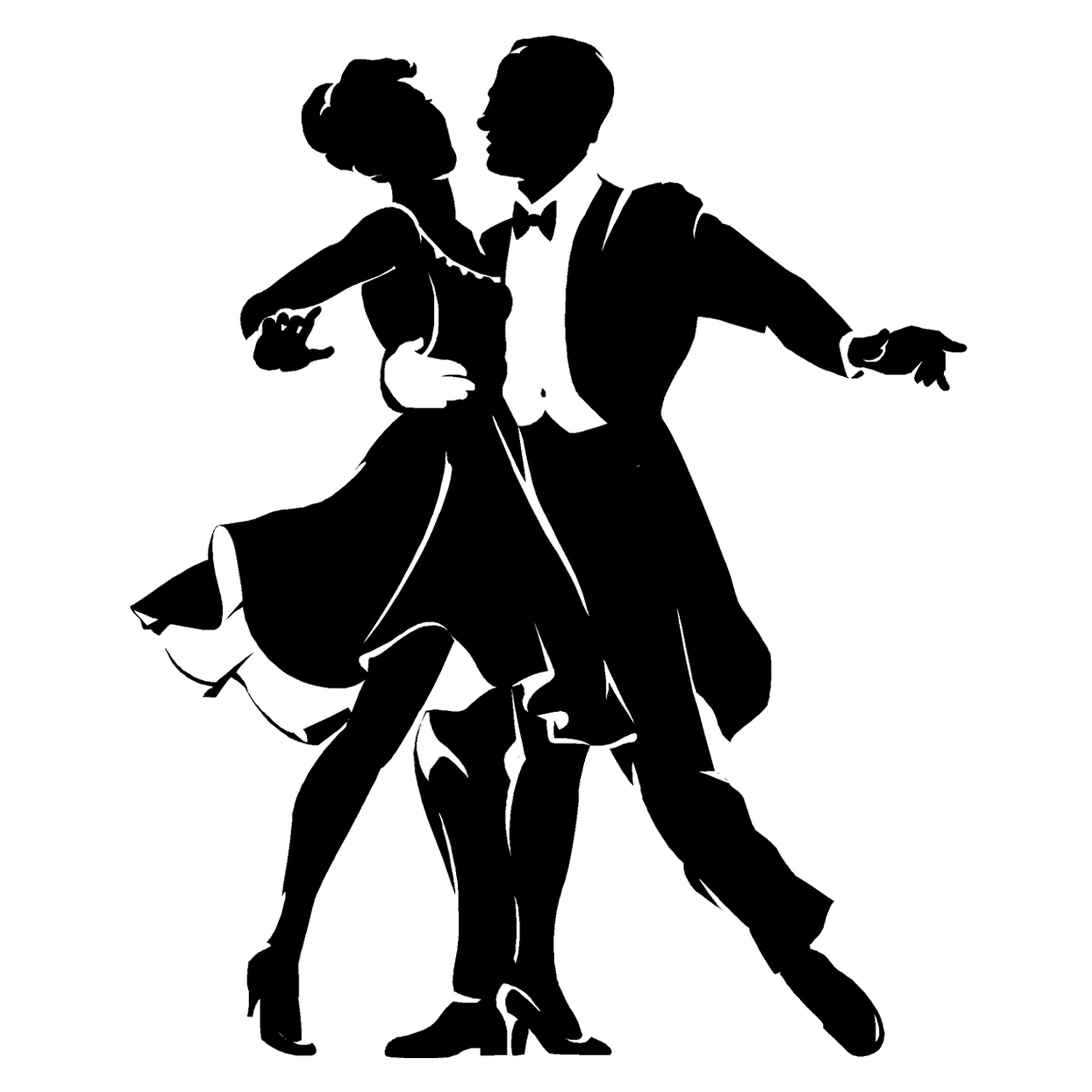 One dance clipart clipart transparent library Bling on My Screen | Motion | Silhouette, Couple silhouette ... clipart transparent library