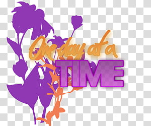 One day at a time clipart clip royalty free library one day at a time wall decor transparent background PNG ... clip royalty free library