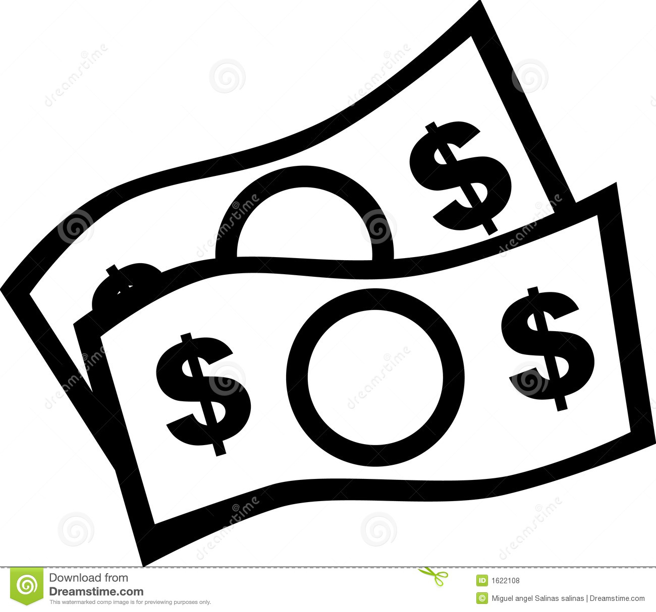One dollar bill clipart black and white banner stock Money Bills Clipart | Free download best Money Bills Clipart ... banner stock