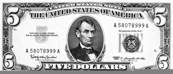 One dollar bill clipart black and white clip royalty free download Ten Dollar Bill Clipart | Free Images at Clker.com - vector ... clip royalty free download