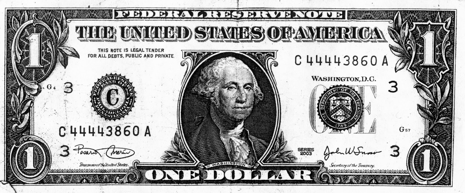 One dollar bill clipart black and white clip art black and white 10 Black And White Photos Of 20 Dollars Images - One Dollar ... clip art black and white