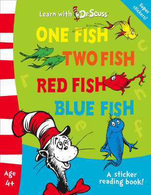 One fish two fish book cover clipart