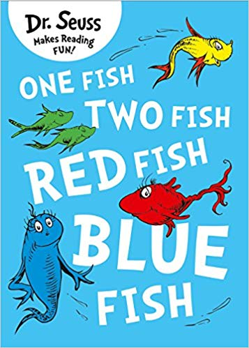 One fish two fish book cover clipart vector free download One Fish, Two Fish, Red Fish, Blue Fish Dr. Seuss: Amazon.co ... vector free download