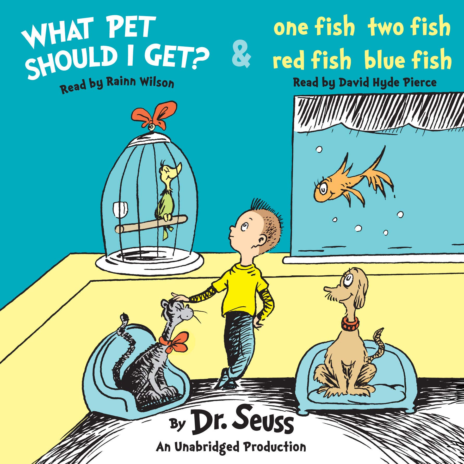 One fish two fish book cover clipart banner library download Amazon.com: What Pet Should I Get? and One Fish Two Fish Red ... banner library download