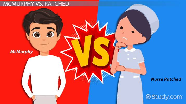 One flew over the cuckoo s nest nurse ratched clipart clipart black and white McMurphy vs. Nurse Ratched in One Flew Over the Cuckoo\'s ... clipart black and white