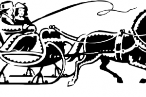 One horse open sleigh clipart svg freeuse stock One horse open sleigh clipart » Clipart Portal svg freeuse stock