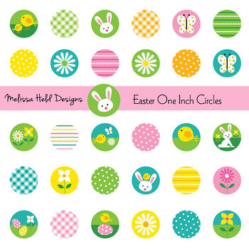 One inch clipart library Easter One Inch Circles Clipart library