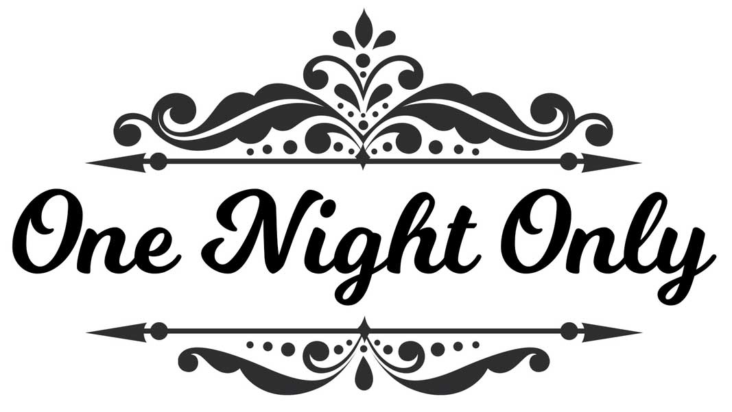 One night only clipart graphic black and white download onenightonly | Saddleworld Dural graphic black and white download