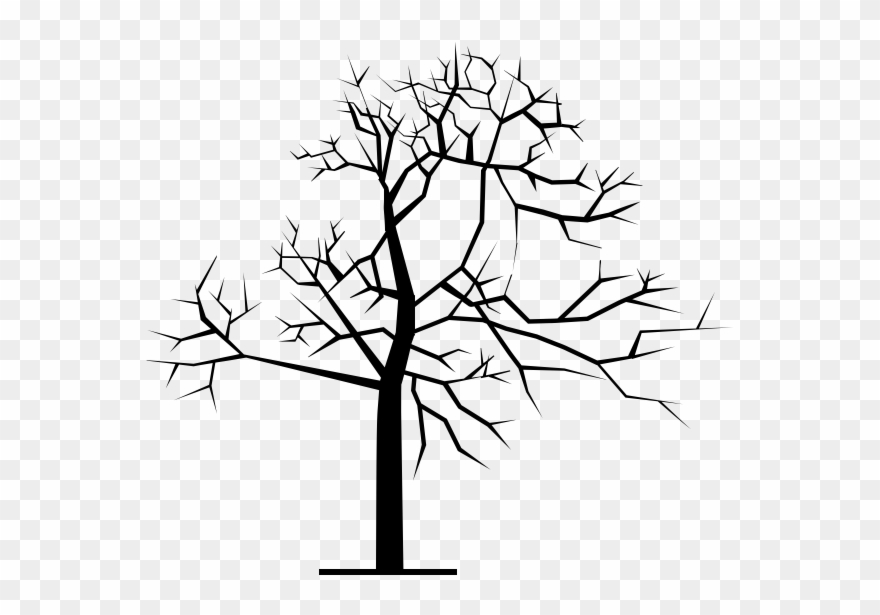 One of us clipart clip royalty free Scary Tree Winter Rubber Stamp - One Of Us Is Sleeping ... clip royalty free