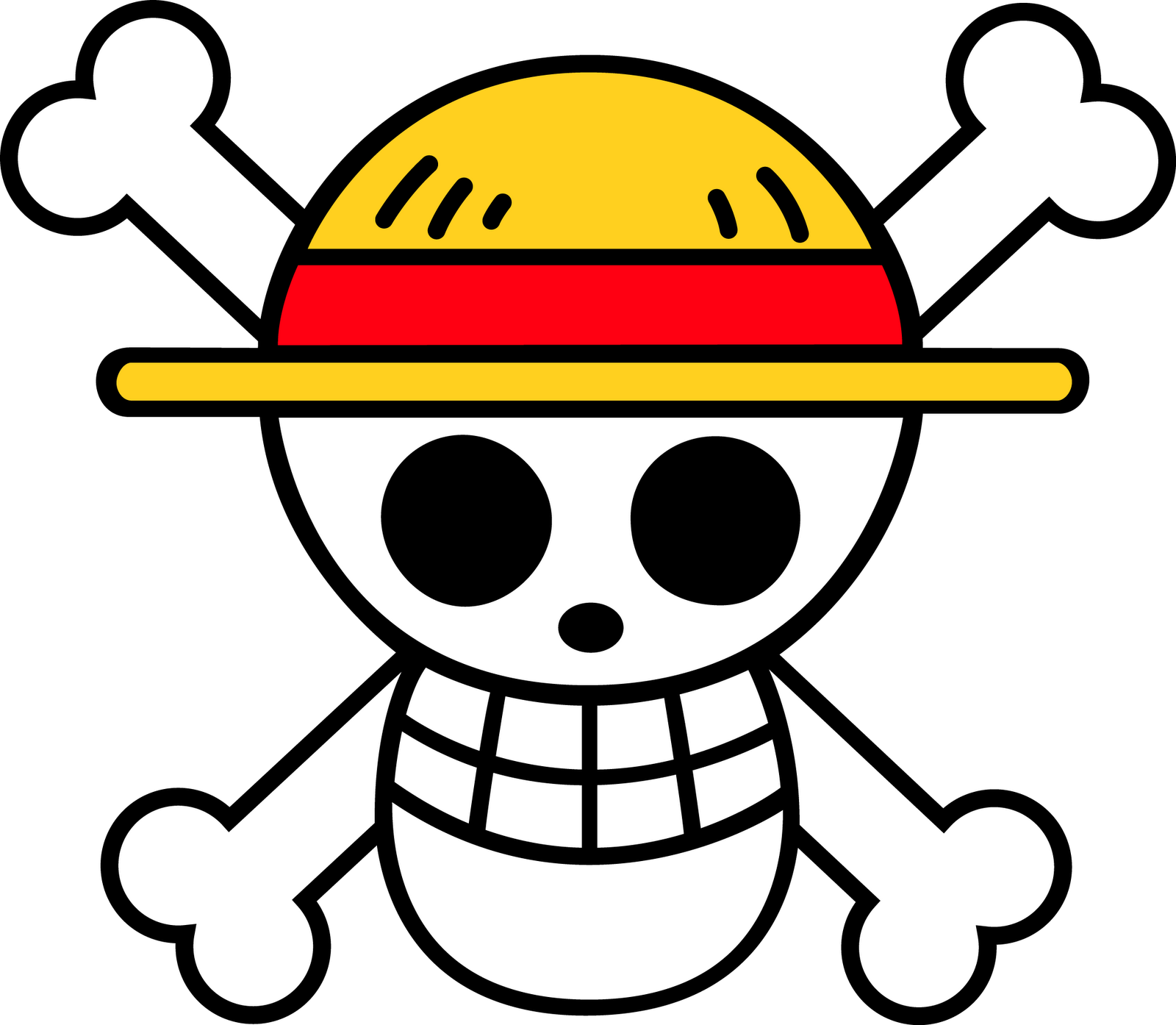 One piece clipart logo