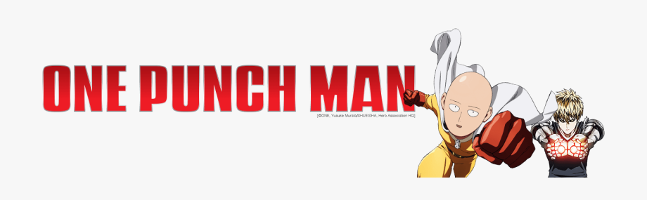 One punch man logo clipart image One Punch Man Logo Png #2433296 - Free Cliparts on ClipartWiki image