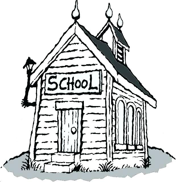One room schoolhouse clipart clip art download one room school house coloring page – amconstructors.com clip art download