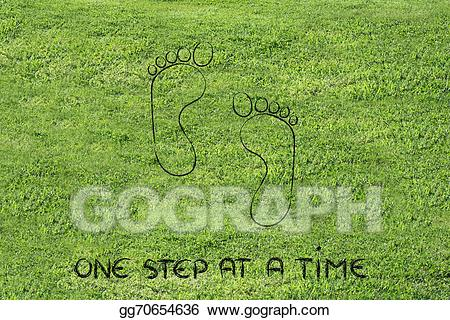 One step at a time clipart graphic black and white library Clipart - Move forward, one step at a time: footprint design ... graphic black and white library