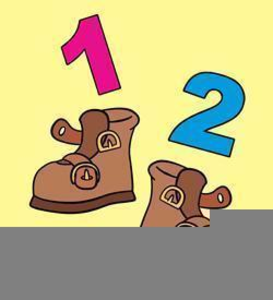One two buckle my shoe clipart image freeuse download One Two Buckle My Shoe Clipart | Free Images at Clker.com ... image freeuse download