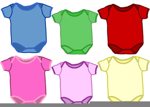 Onesies clipart banner free Free Baby Onesies Clipart | Free Images at Clker.com ... banner free