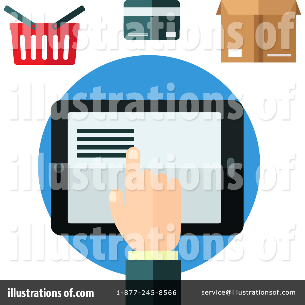 Online business clipart png stock Online Business Clipart #1268666 - Illustration by Vector ... png stock