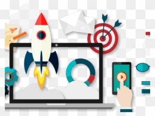 Online business clipart vector royalty free stock Online Marketing Clipart Business Enterprise - Digital ... vector royalty free stock