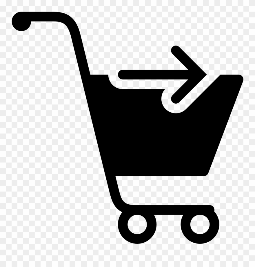 Online shopping cart icon clipart vector royalty free Ecommerce Icons Icons8 - Shopping Cart Not Transparent ... vector royalty free