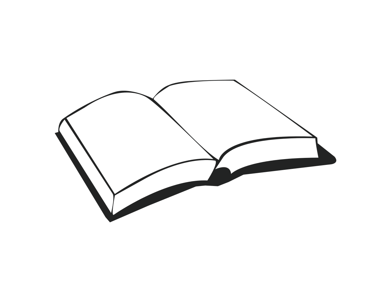 Open book clipart black and white banner royalty free File:Book SVG.svg - Wikimedia Commons banner royalty free