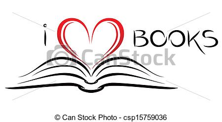 Open book clipart with hearts svg library download Open Book Clip Art Heart – Clipart Free Download svg library download