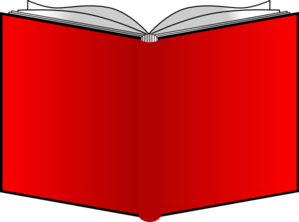 Open book cover clipart royalty free Openbook Red Covers Clip Art at Clker.com - vector clip art online ... royalty free