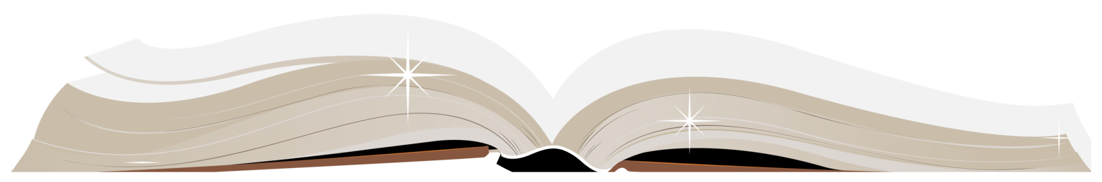 Open book image clipart clip library Open Book PNG ClipArt clip library