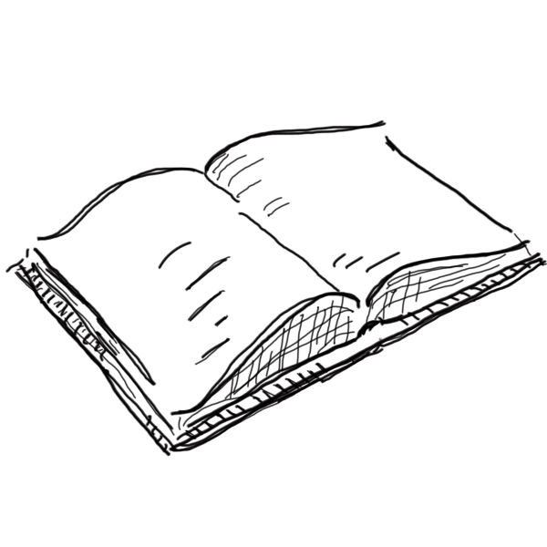 Open book iready clipart black and white jpg transparent 28+ Collection of Open Book Drawing Transparent | High quality, free ... jpg transparent