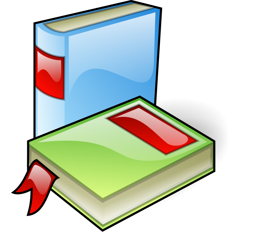 Open book with letters jumping out clipart vector library File:Books-aj.svg aj ashton 01b.svg - Wikipedia vector library