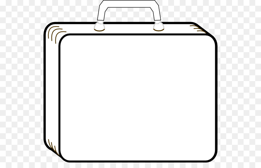 Open briefcase clipart free library Book Black And White png download - 600*561 - Free ... free library