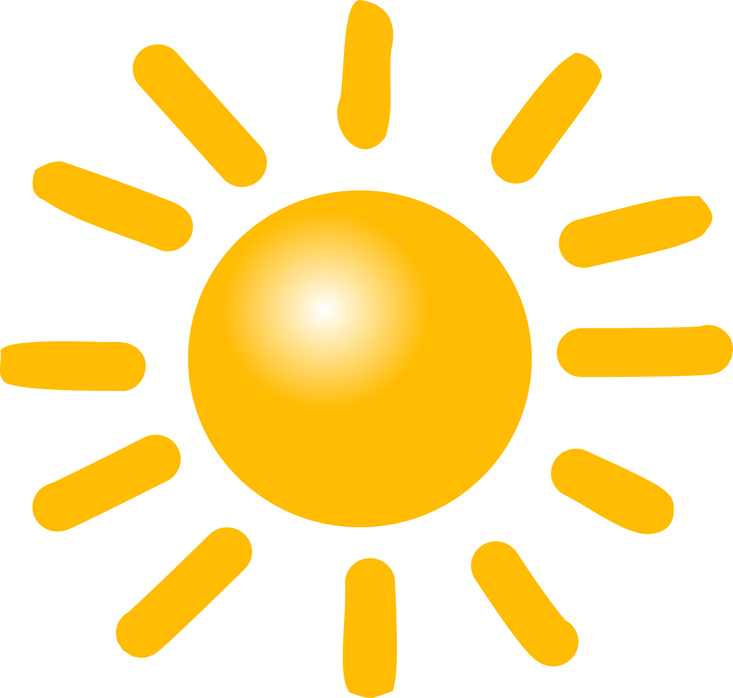 Sun weather clipart clip black and white Clipart - Weather Symbols: Sun clip black and white