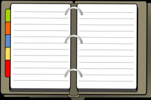 Open diary clipart banner stock Diary Clip Art at Clker.com - vector clip art online ... banner stock